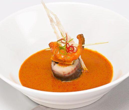 (Fried) Bagrid Catfish with Curry Sauce (Cá Lăng Xốt Cà Ri)