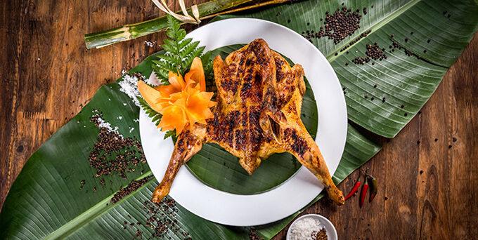 Grilled chicken (Gà nướng mọi)