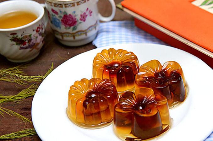 dried longan agar jelly