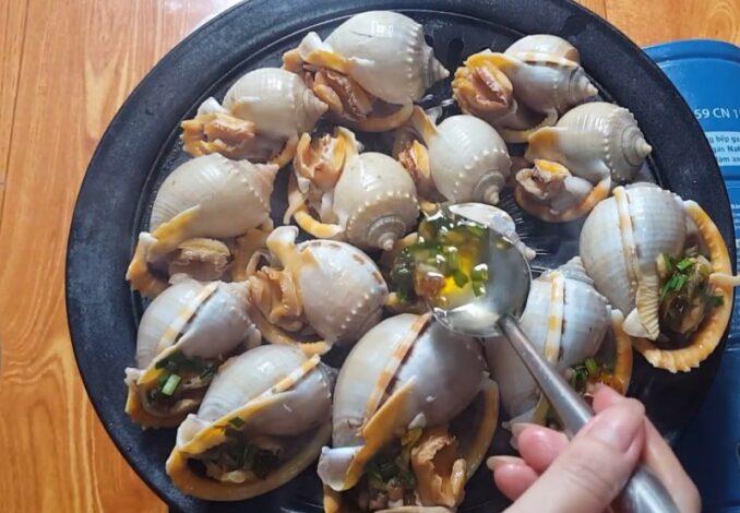grilling garlic snails