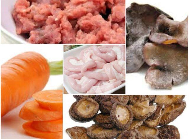 sausage ingedients
