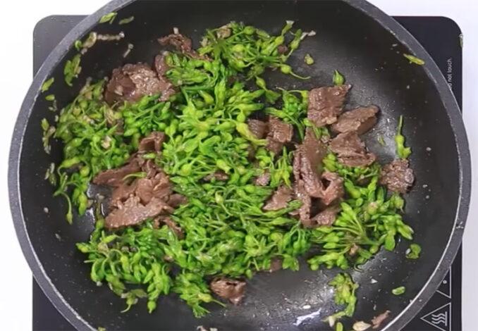 stirfrying beef tonkin jasmine