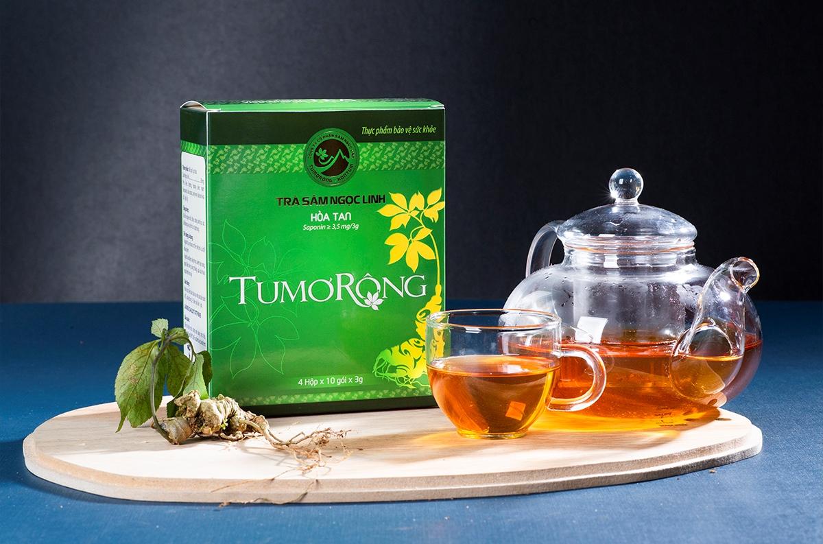 Vietnamese ginseng tea