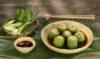Vietnamese luffa stuffed with prawn