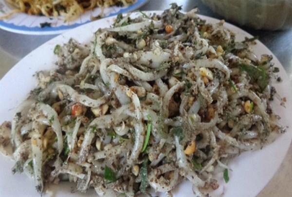Noodle fish salad