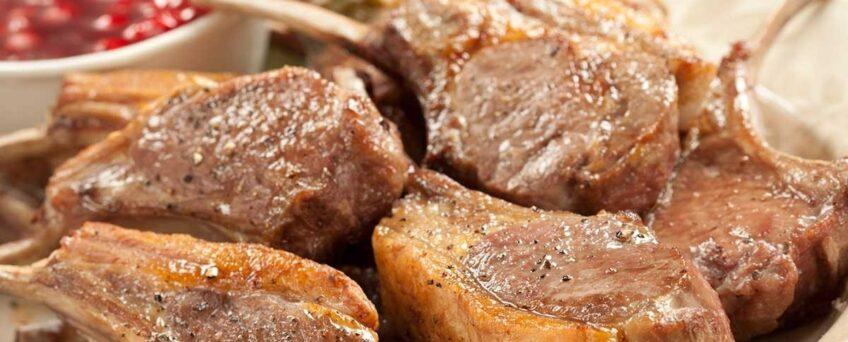 BBQ Lamb Ribs