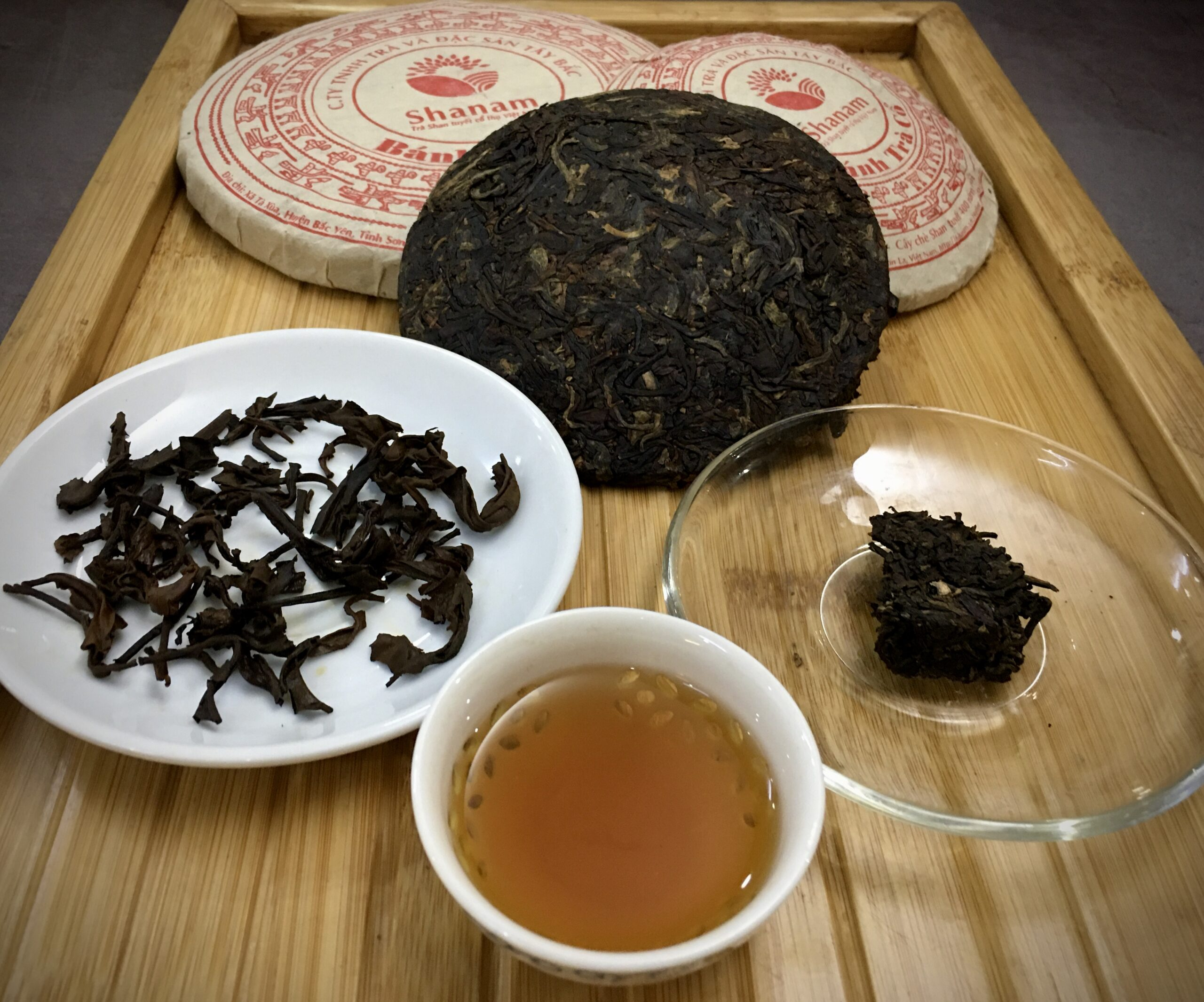 Fermented Shan Tuyet tea