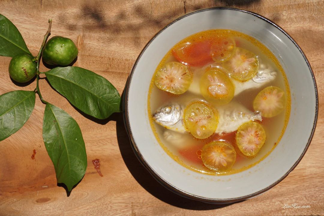 Fish Sour Soup with Monkey Fruit