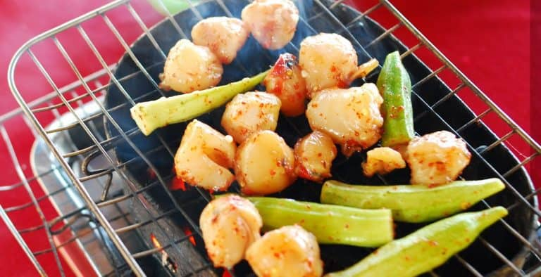 Grilled pen shell meat in Phu Quoc island