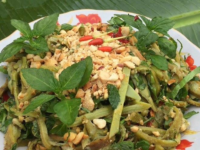 Oroxylum salad