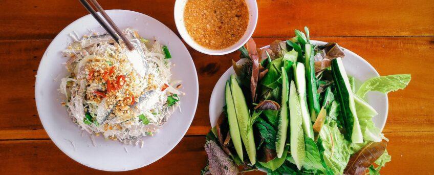 Phu Quoc lime-cured sardine salad