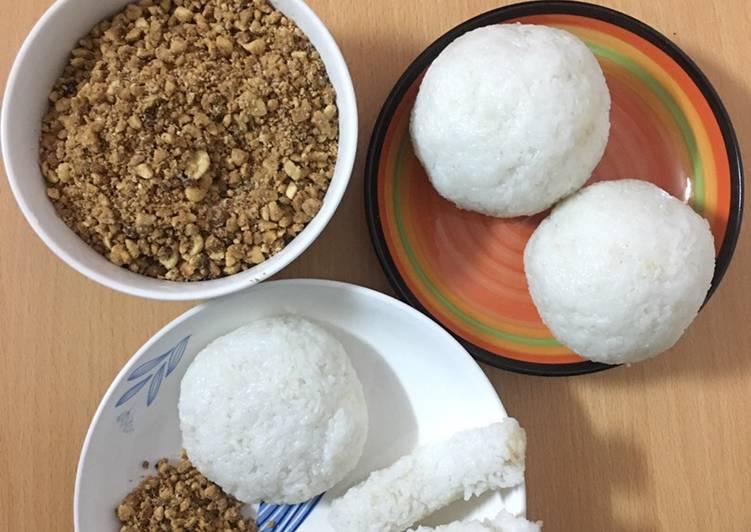 Rice Balls with Sesame Salt