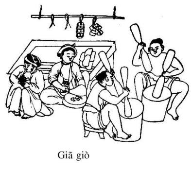 Vietnamese ham pounding