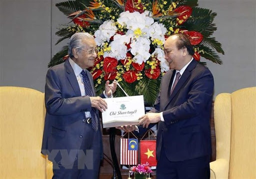 Vietnamese then prime minister gifted Shan Tuyet tea to Malaysian counterpart