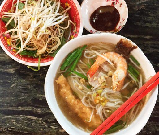 bun suong noodle soup