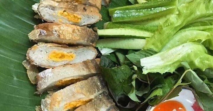 deboned knifefish with salted eggs