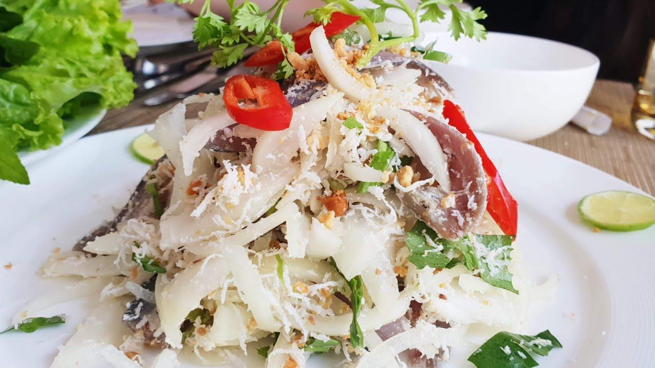 lime-cured sardine salad