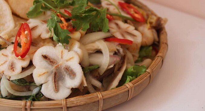 mangosteen salad