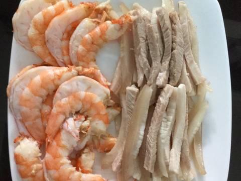 pork and shrimps