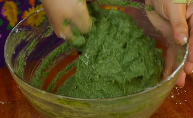 rice-ramie dough
