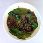 Gnetum Soup with Creek Snails
