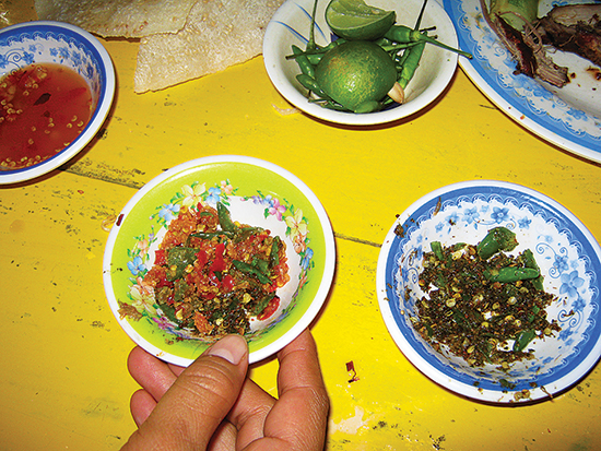 neem leaf salt with weaver ants